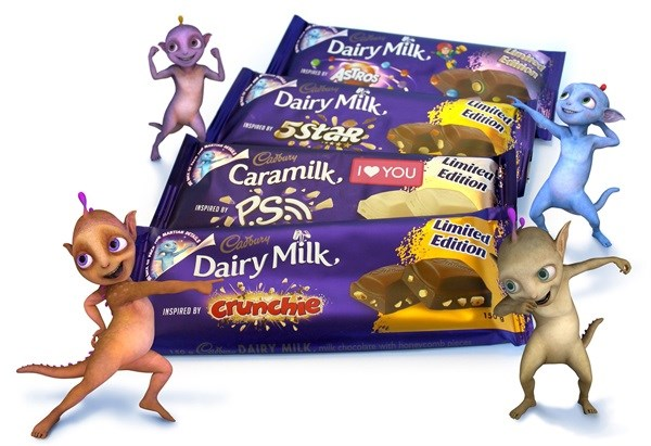 The Cadbury Martians have landed!