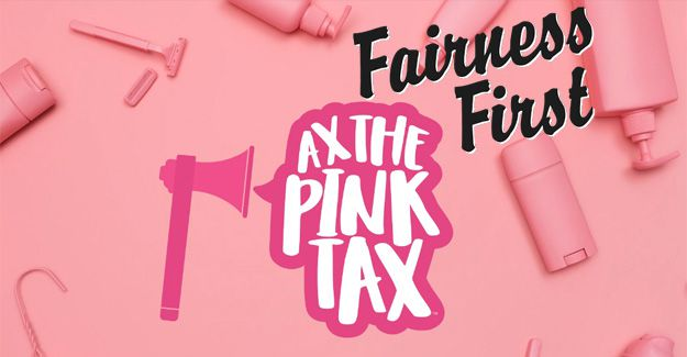 #FairnessFirst: Seeing red over the 'pink tax' problem