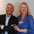 Scopen's Cesar Vacchiano (president and global CEO) and Johanna McDowell (Scopen Africa partner and CEO of the IAS).