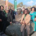 Walter Sisulu honoured with Sisulu Circle Garden unveilling