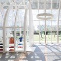 Margine creates tree-like pavilion for hospital foundation in Florence