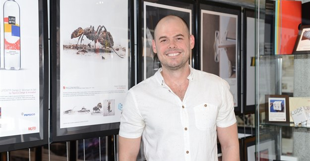 Local artist Chris Slabber wins big at international A' Design Award and Competition