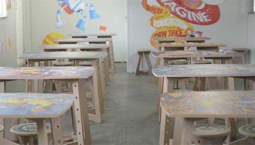 Goedgedacht popup classroom