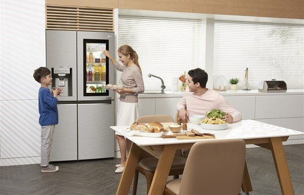 LG's InstaView fridge and TwinWash are models of efficiency