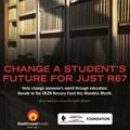 Change a life through education this Mandela Day
