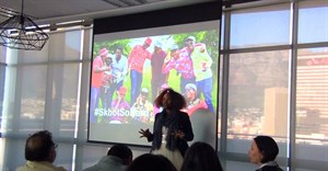Makhathini in action at Kantar Millward Brown's offices in the Foreshore.