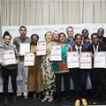Award winners at this year's Durban FilmMart.