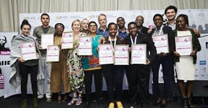Award winners at this year's Durban FilmMart.