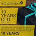 SABERA turns 10 years old