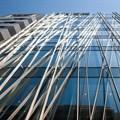 Kengo Kuma wraps Japanese office building with wooden lattice