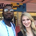 Prince Zwane and Kaylee Germann of Publicis Johannesburg at the Cannes Lions Festival.