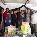 Sharing Madiba joy with Luvuyo Home