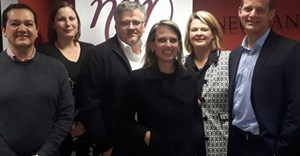 Left to right: George Tsikos (LexisNexis), Petro van Dyk (Neumann van Rooyen Attorneys), André Styger (Neumann van Rooyen Attorneys), Rachelle Blignaut (LexisNexis), Gerda Janse van Renbsurg (Neumann van Rooyen Attorneys) and Pieter Coetzee (LexisNexis) attended the historic unveiling of the new electronic title deed at an event in Welkom.