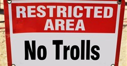 How to deal with the troll armies