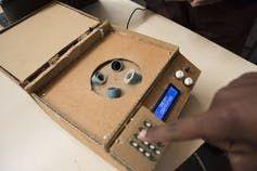 The winning centrifuge design. <br>Image credit: Jeffrey Barbee, Alliance Earth