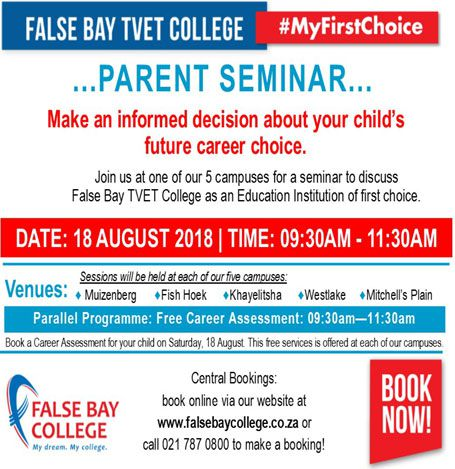 Parent Seminar - Empowering parents to give better career advice