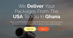 Shop on Amazon from Ghana with startup Eazyloop