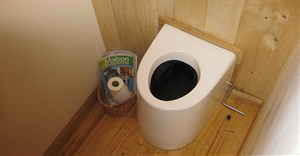 Dry toilet technology. By , CC BY 2.0,