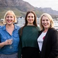 From left to right: Anelde Greeff, Marina Tokar and Johannie van As at the first SheSays Cape Town event