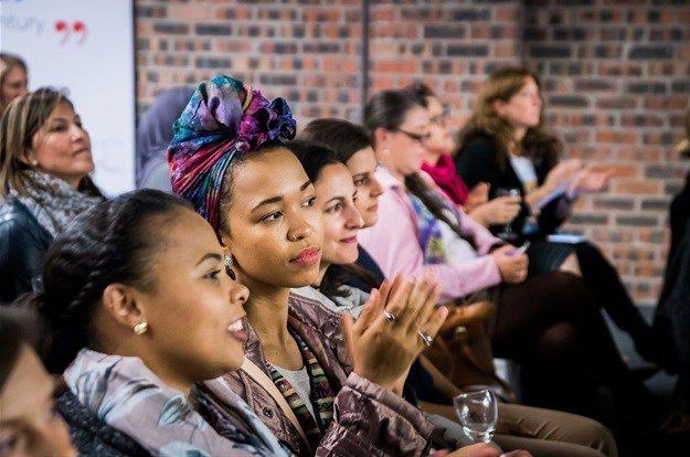 A scene from the first SheSays Cape Town event.