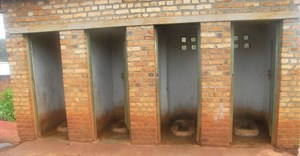 Pit latrines. Image by SuSanA Secretariat,