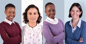 L-R: Hlologelo Manthose, Frankie A'Bear, Jabulile Nhlapo, and Karen King