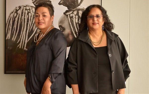 Silvana Dantu and Shareen Parker, female founders of local brand Zari Sparkling Grape.