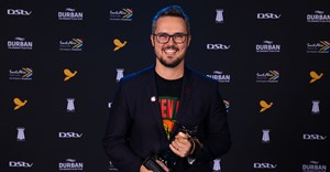 Doug Place, CMO of Nando's, is this year's recipient of the Loeries Marketing Innovation and Leadership Award | Photo by Roy Esterhuysen / 2018 Loerie Awards /