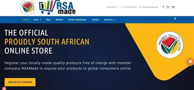 Proudly SA launches online shopping site