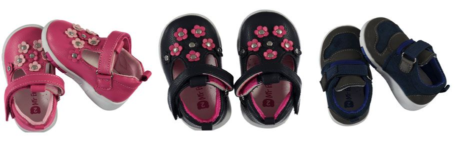 Ackermans gives moms one less thing to worry about with its 'My First Steps' footwear range