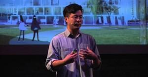Wong at TEDx Talk. © .