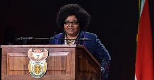 Environmental Affairs Minister Edna Molewa,  (Photo: GCIS)