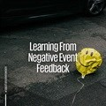 Learning from negative event feedback