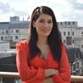 Giokos on the roof at CNN London.