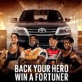 Hat trick for Toyota Fortuner 4x4 Challenge