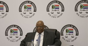 Deputy Chief Justice Ray Zondo looks into state capture in South Africa's energy sector. EPA-EFE