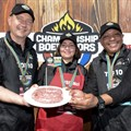Wellington mom crowned boerewors champion