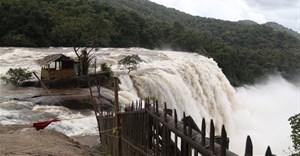 Heavy rainfall recently devastated large swathes of Kerala, India. Prakash Elamakkara/EPA