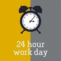 #24HourWorkDay