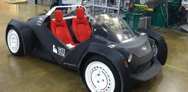 Prototype vehicle built with 3D printing – but is it green? Tim Gutowski,