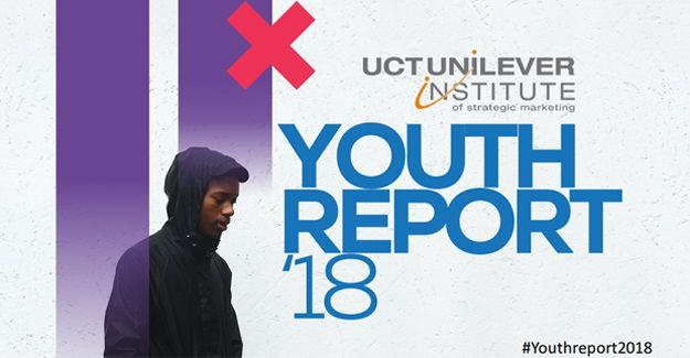 Cover image of Youth Report (2018). UCT Unilever Institute of Strategic Marketing & Instant Grass International.