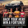 Toyota Fortuner 4x4 Challenge social media campaign wins at Sports Industry Awards