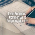 Event budgeting: Common event budgeting mistakes