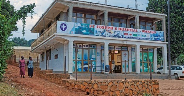 A small hospital in Wakiso district in the central region of Uganda. Shutterstock