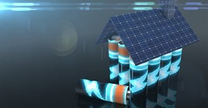 Lithium batteries offer renewable energy electricity power storage. Shutterstock/Immersion Imagery