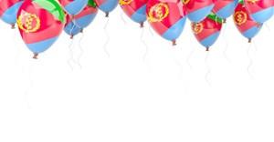Eritrean flag. © Mikhail Mishchenko via