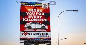 Toyota SA, FCB Joburg create beaded billboard as Corolla love letter