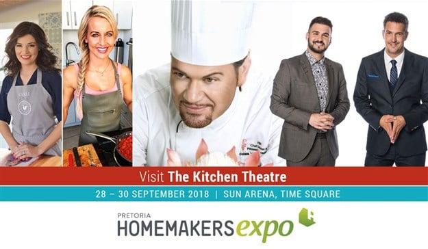 Pretoria HOMEMAKERS Expo - Kitchen Theatre