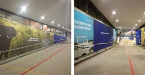 American Express books Cape Town International Airport underpass site with Oasis Media