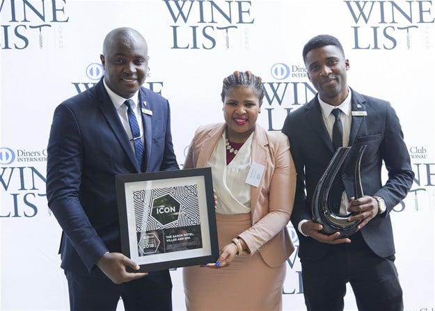 2018 Diners Club ICON Award - The Saxon Hotel Villas & Spa